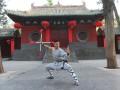 Chang Hongliang au Monastère de Shaolin